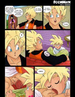 Hentai Gay Goku e Gohan