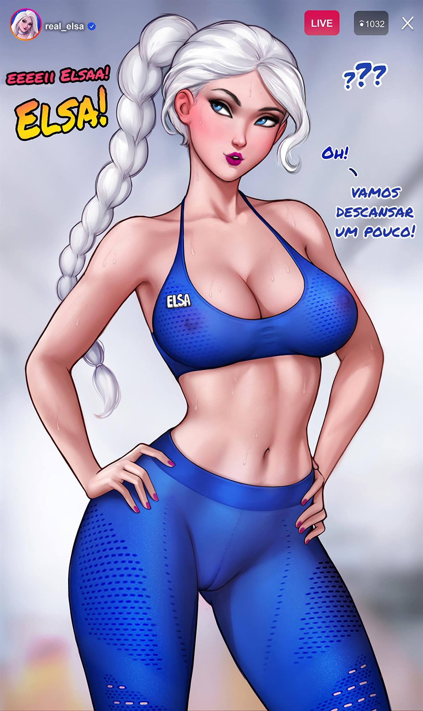 Treinando com Elsa