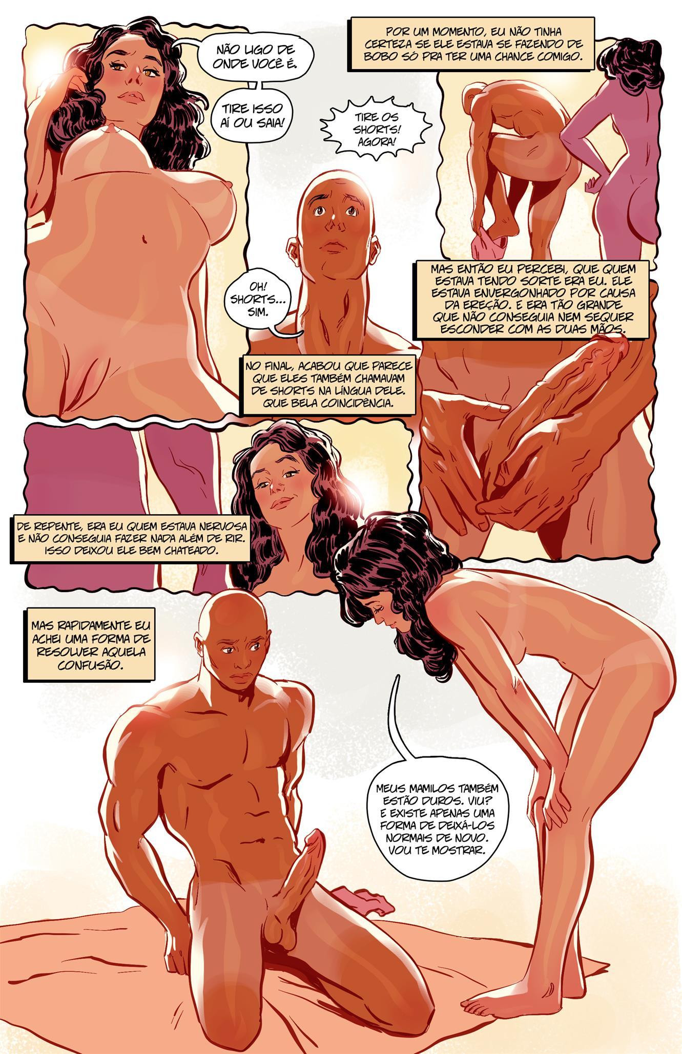 Sexo na Praia de Nudismo