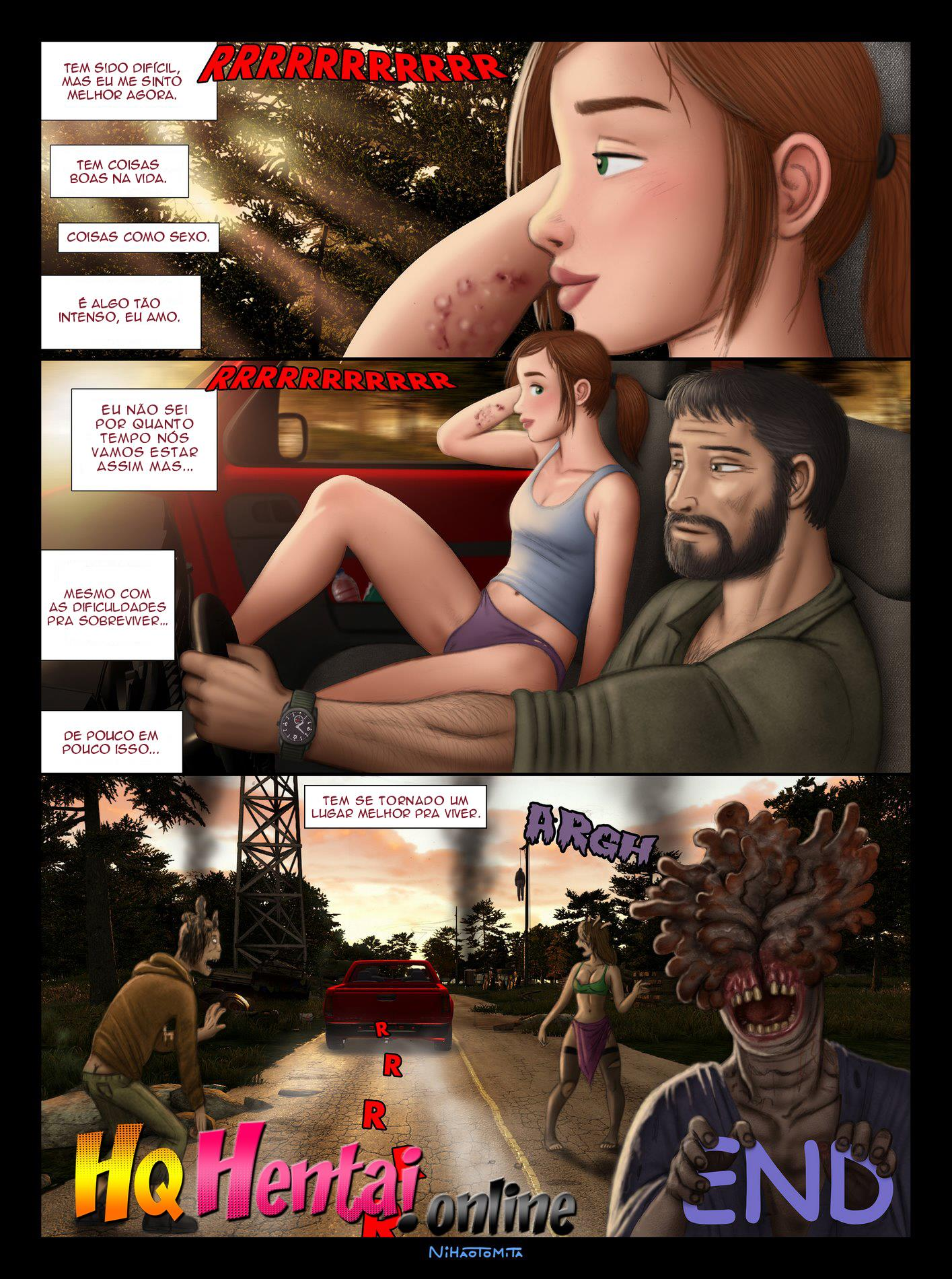 Ellie descobrindo o Sexo