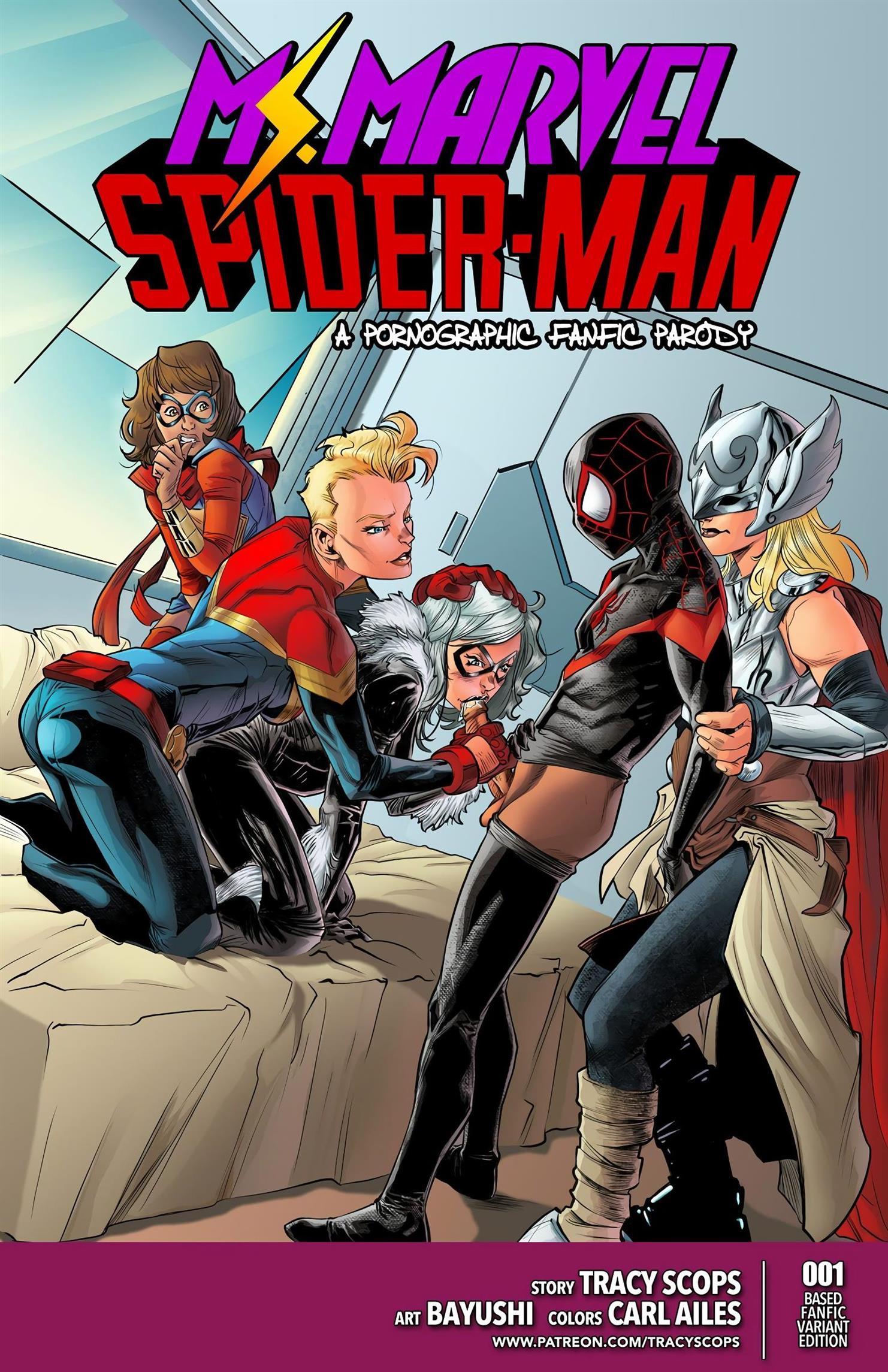 Ms. Marvel e Homem-Aranha