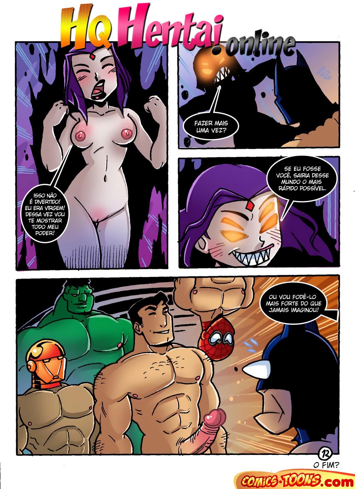 Batman no mundo sexual de Ravena