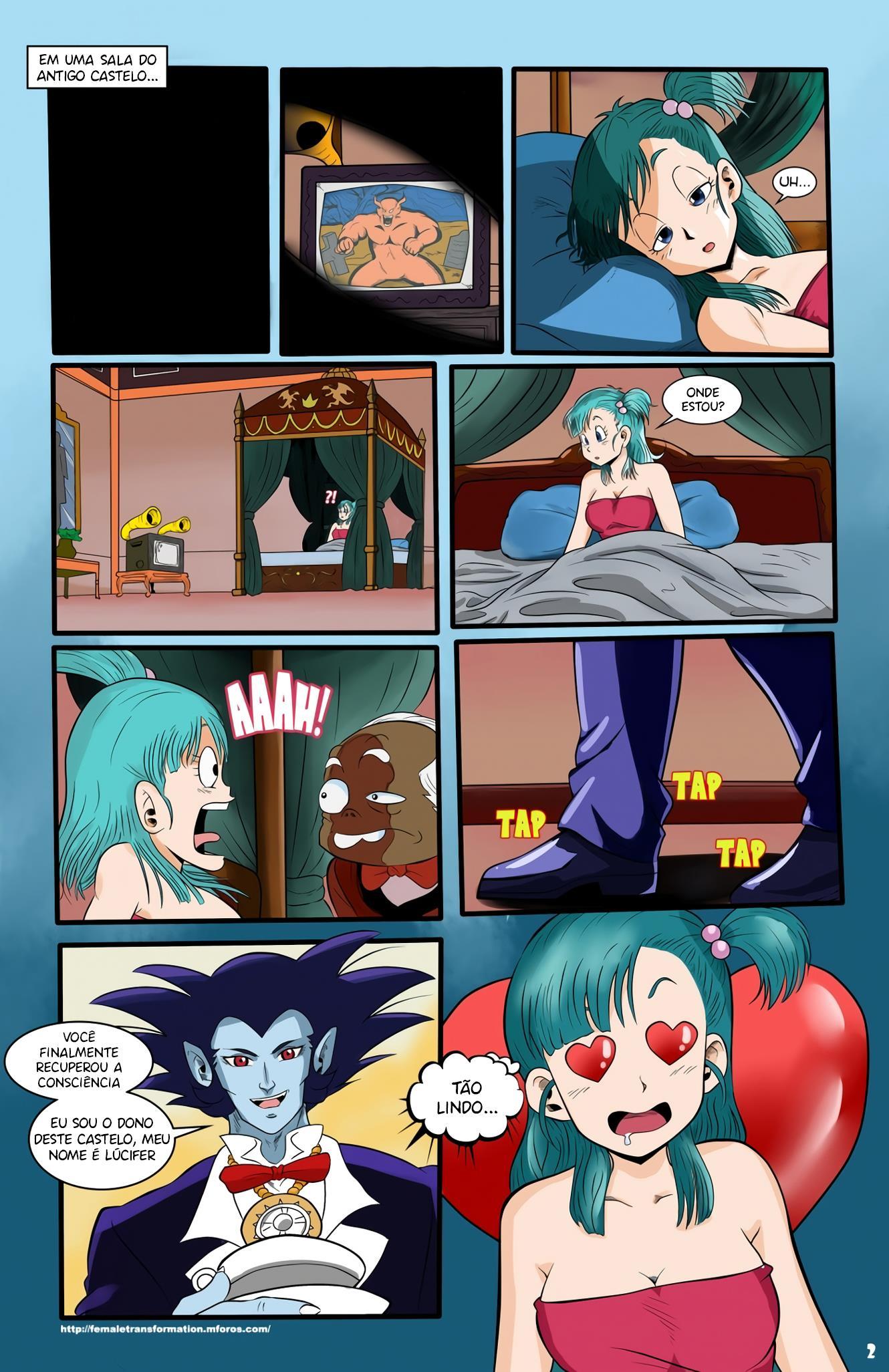 Bulma a rainha dos Vampiros