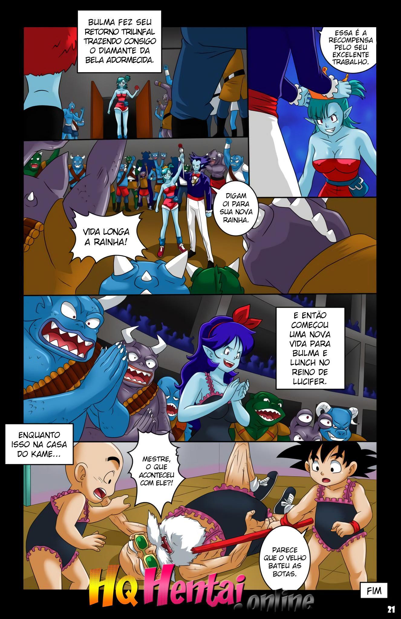 Bulma a rainha dos Vampiros 2