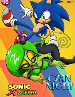Noite de sexo do Sonic
