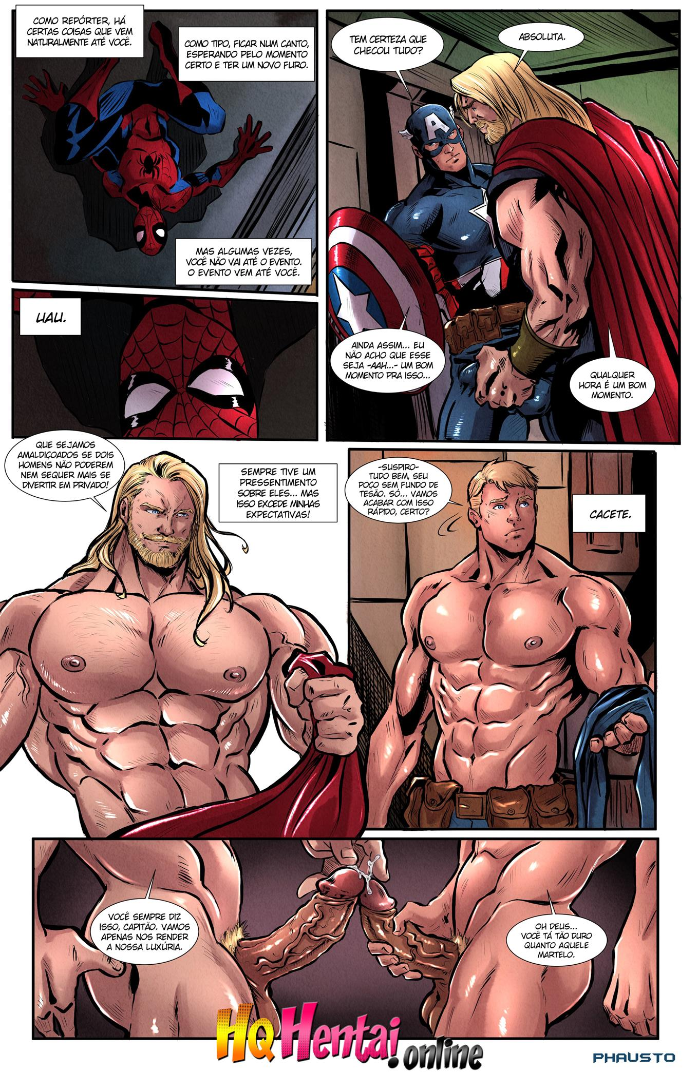 Homem Aranha e os Vingadores